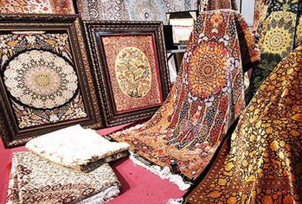 قالی دستباف از صنایع دستی قم